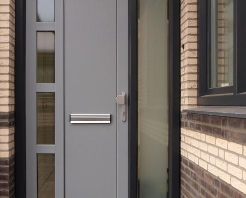 Kunststof deuren Grijs/Zwart